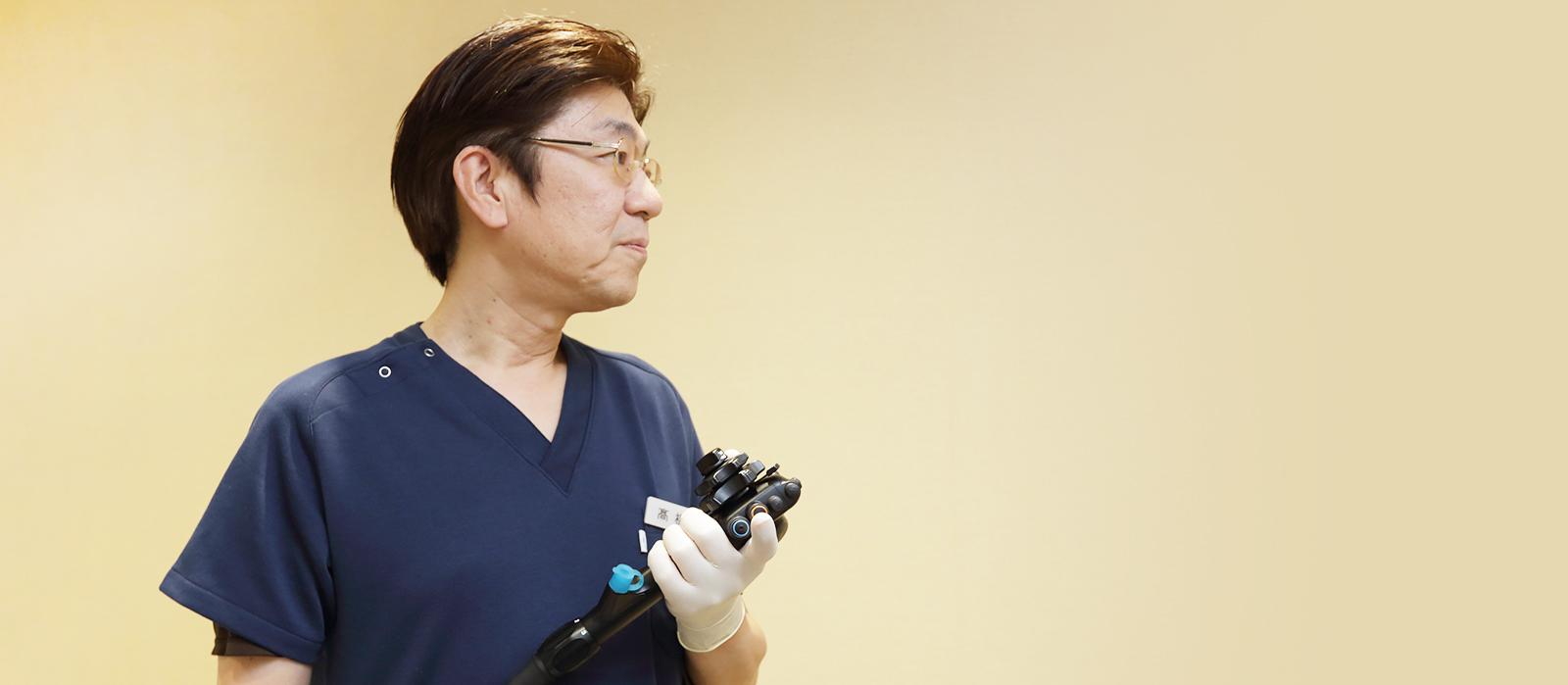 2人の専門医によるがん検査 院内に内視鏡やCT検査装置あり。がんや病気の早期発見・早期治療につとめています。