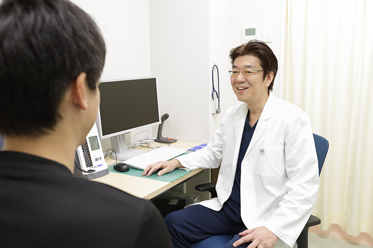 2人の専門医による内視鏡検査